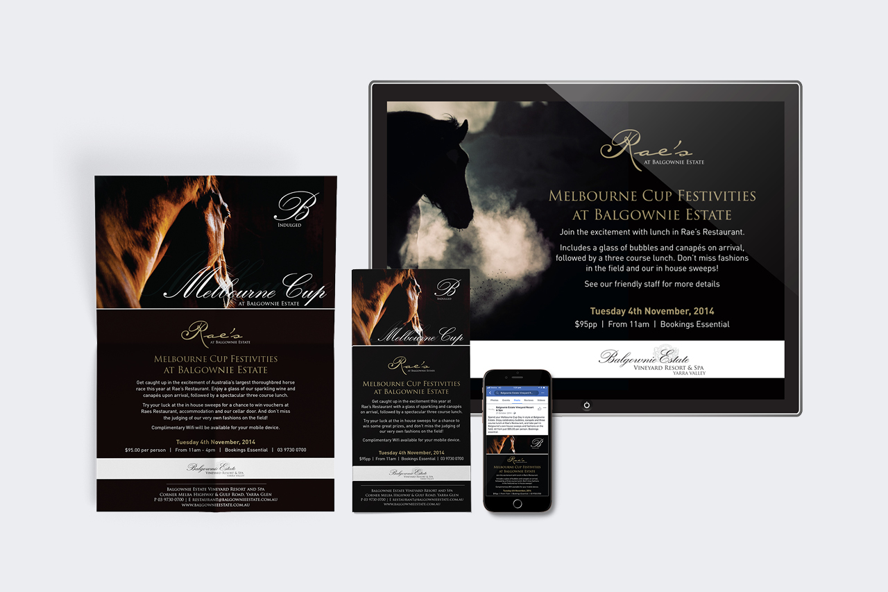 balgownie estate promotional design Maker and co design