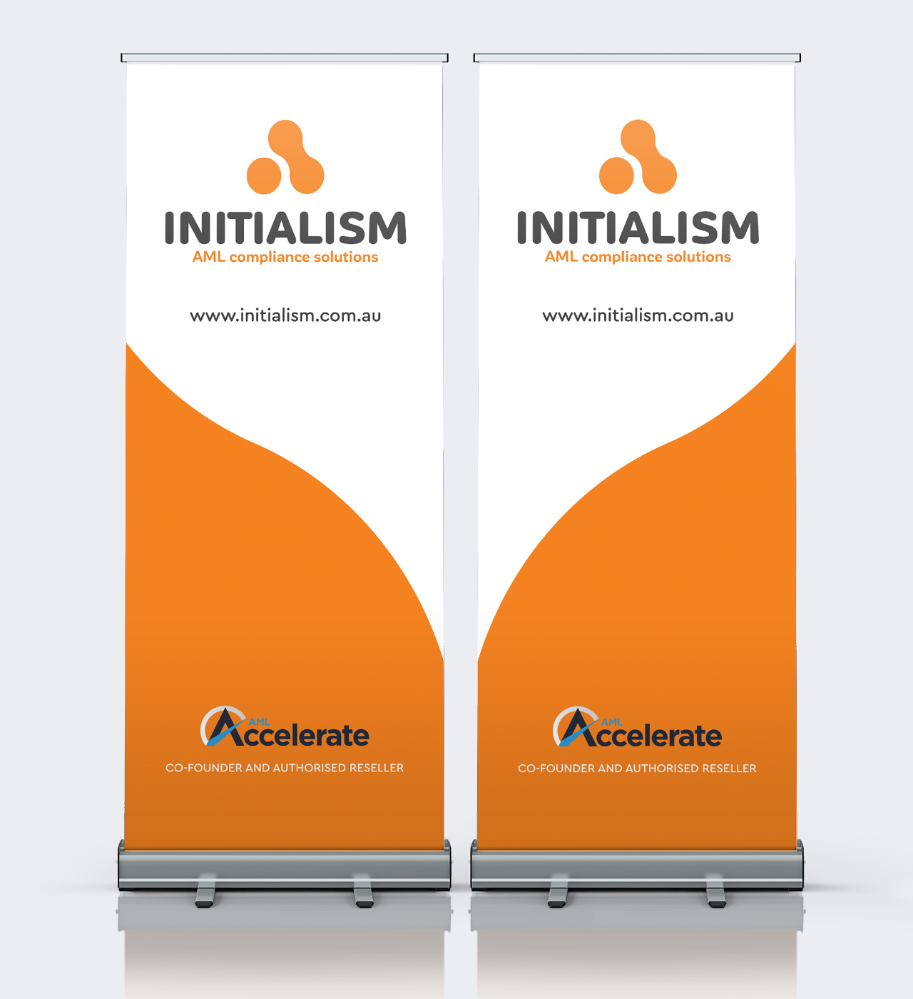 initialism signage maker and co design