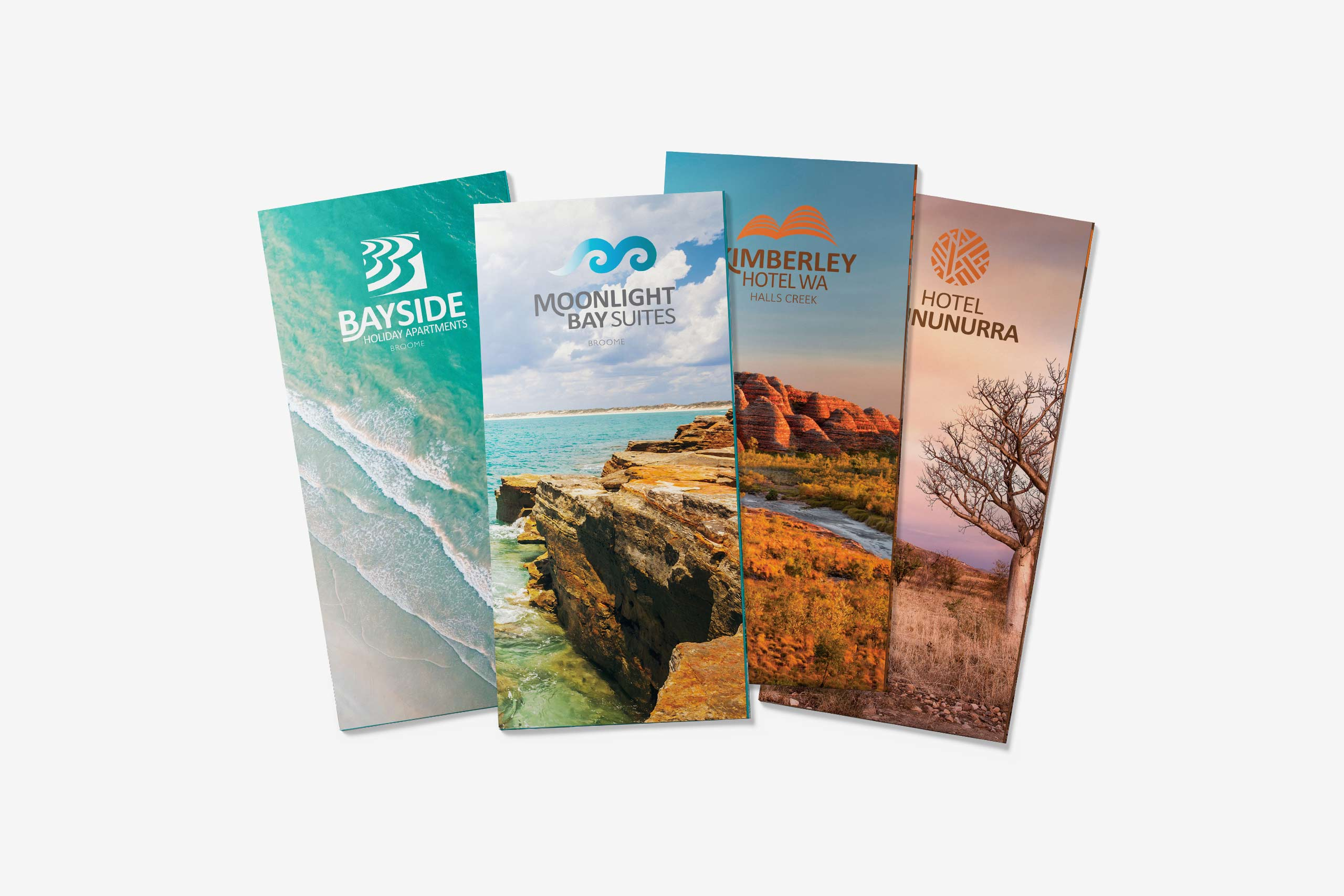 kimberley accommodation group brochure design Maker and co design