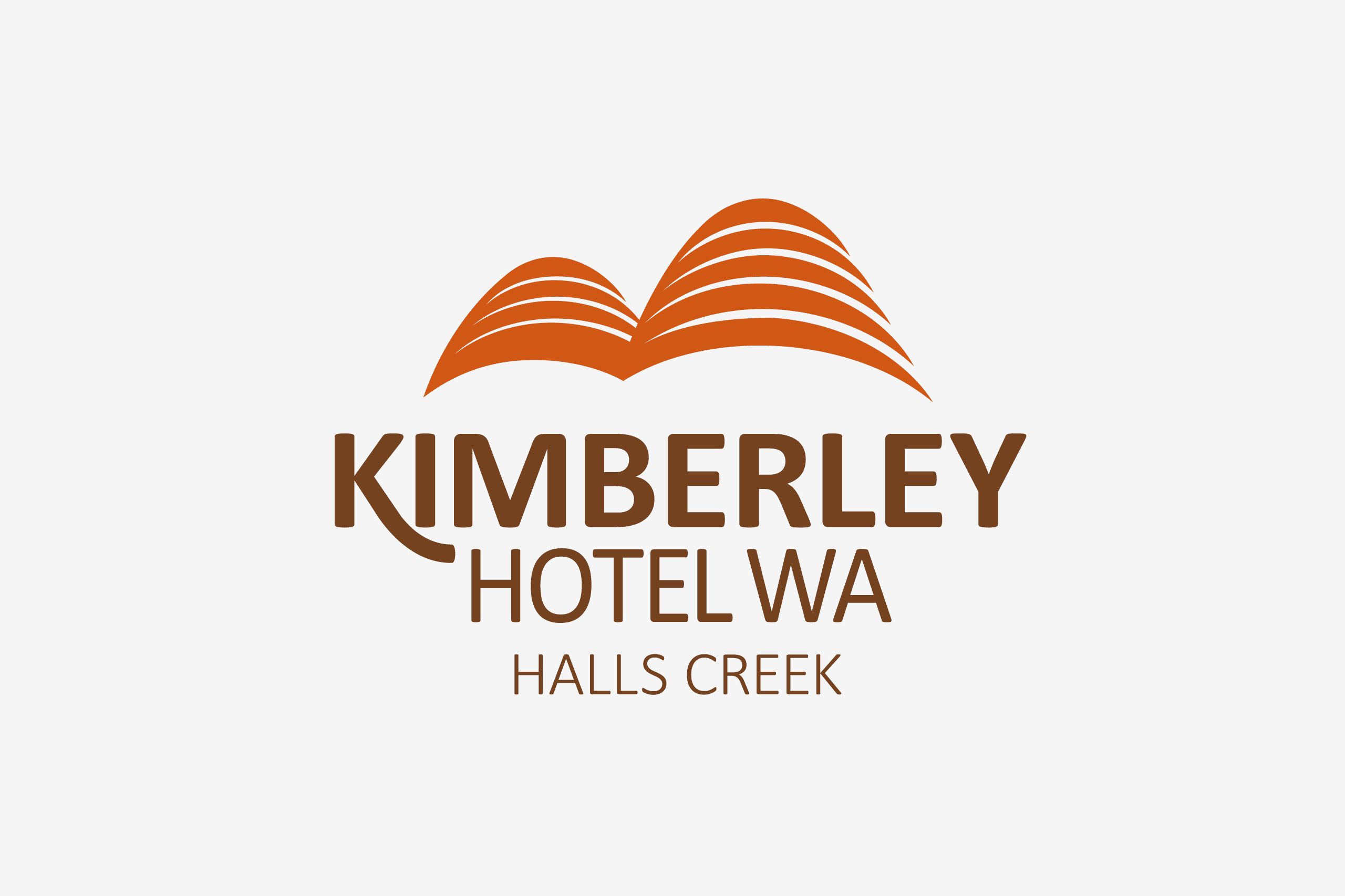 kimberley hotel logo maker and co design