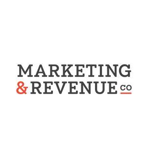 marketing and revenue company client logo colour