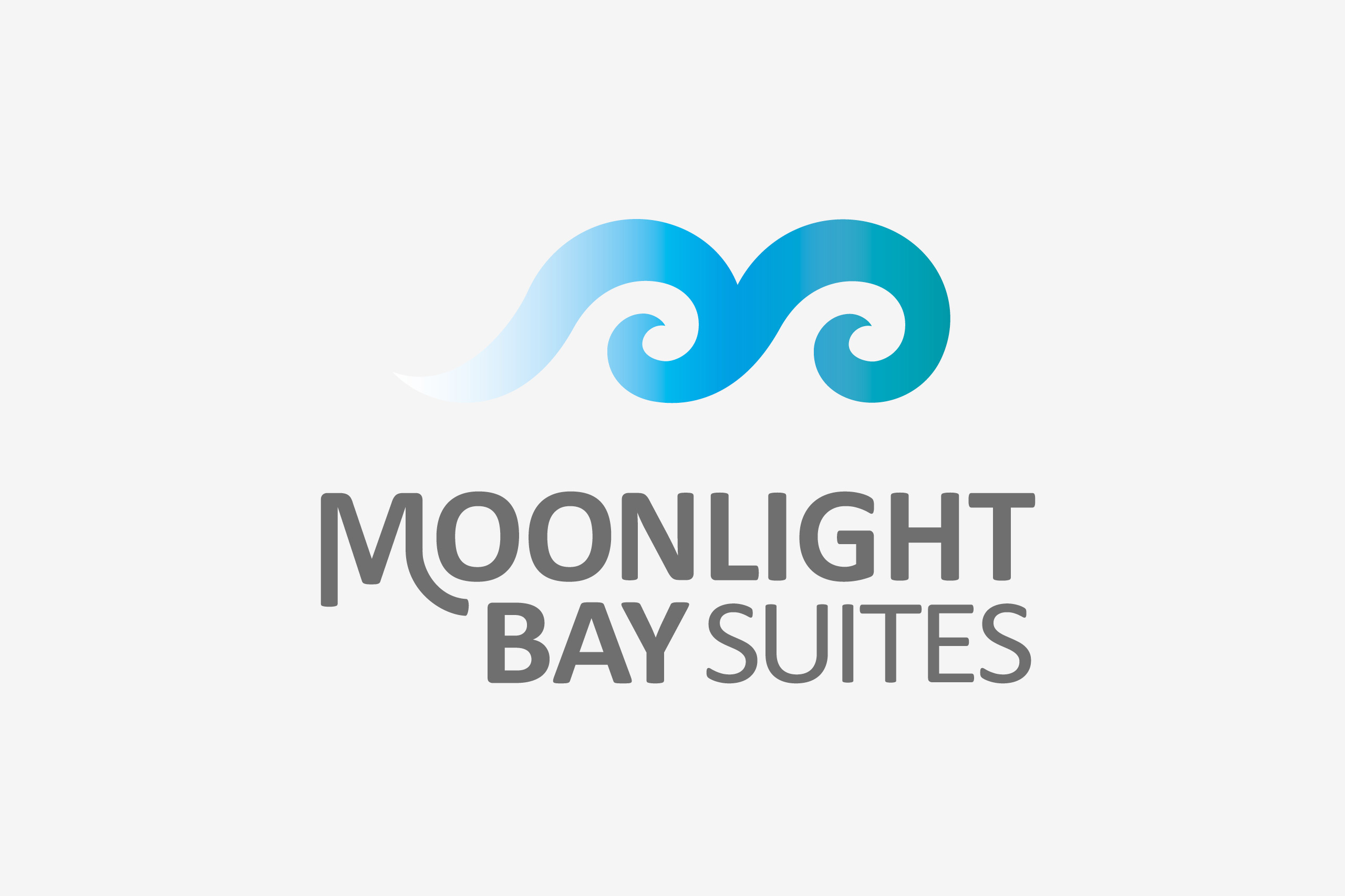 moonlight bay suites logo maker and co design