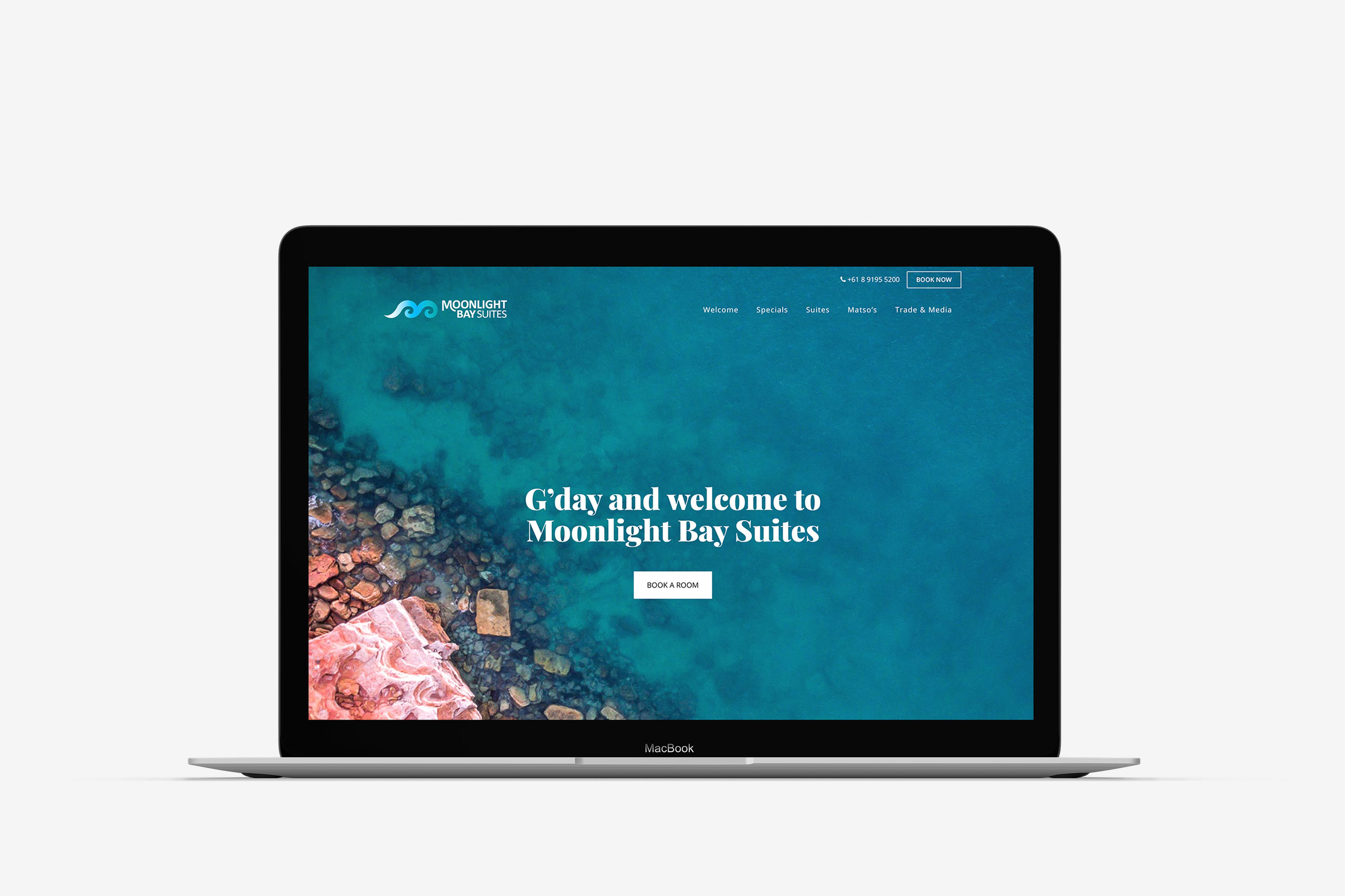 moonlight bay suites website design maker and co design