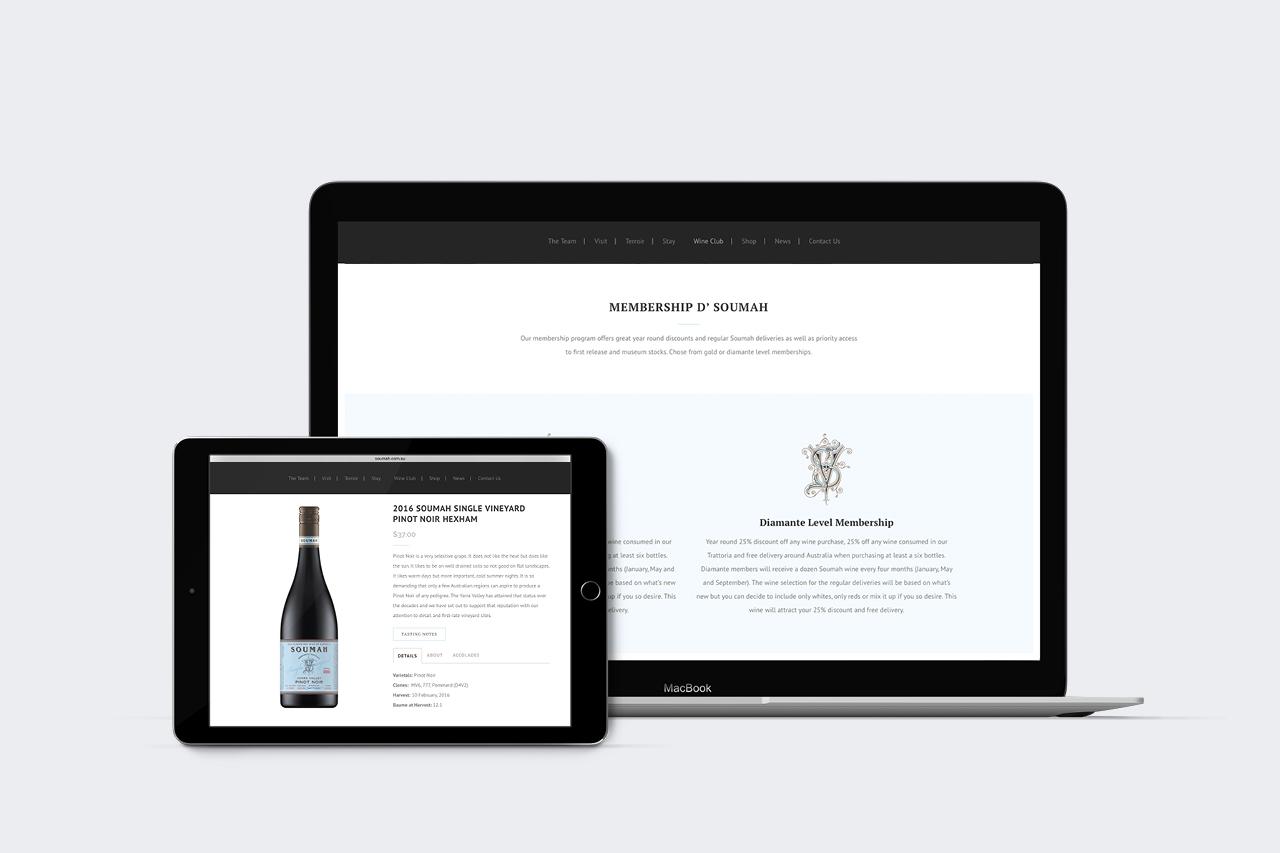 soumah ecommerce website design maker and co design
