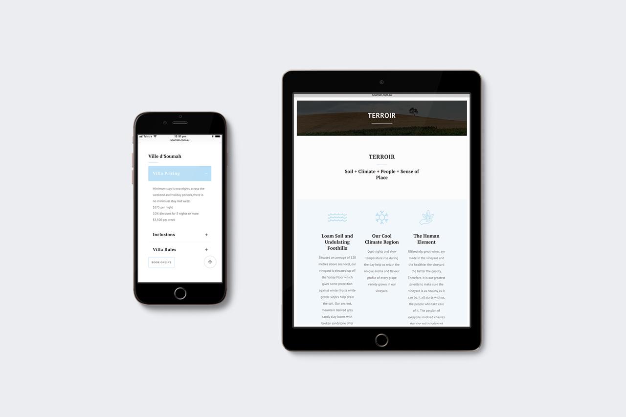 soumah responsive website design maker and co design