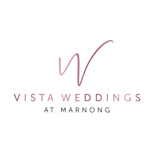 vista weddings client logo colour