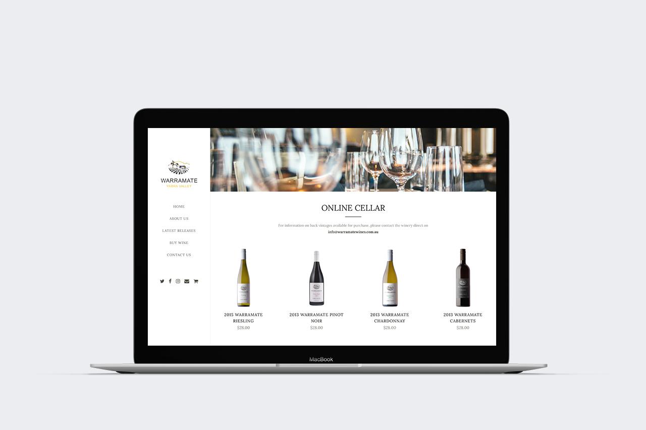 warramate ecommerce website maker and co design