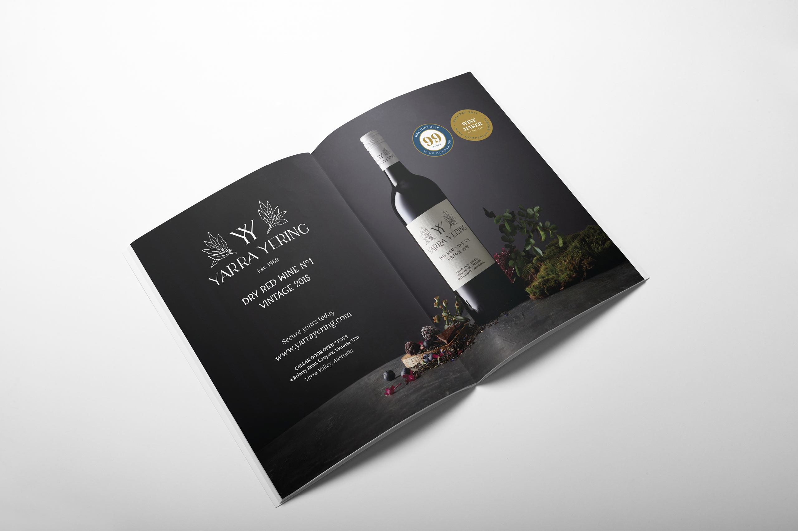 yarra yering magazine 02 advertising maker and co design web