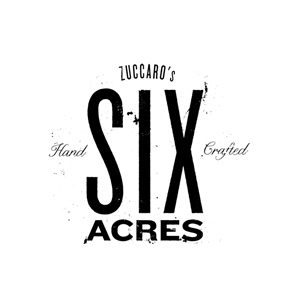 six acres wines client logo colour