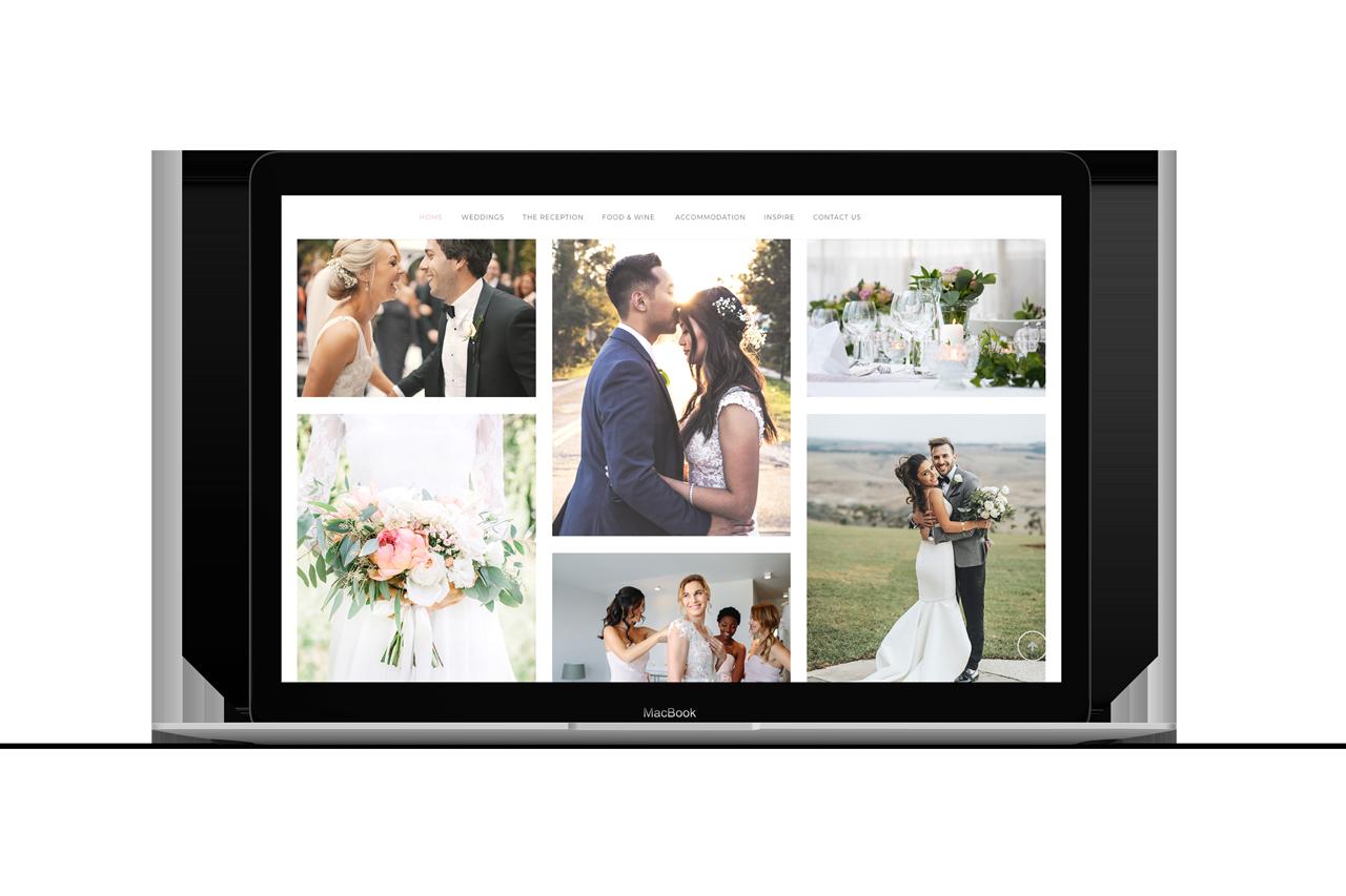 vista weddings website 03 maker and co design